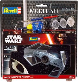 TIE ADVANCED VADER MODEL SET STAR WARS 1/121 REVELL