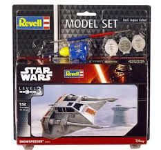 SNOWSPEEDER MODEL SET STAR WARS 1/52 REVELL