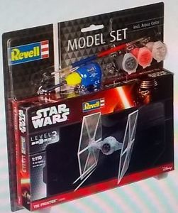 CAZA TIE MODEL SET STAR WARS 1/144 REVELL