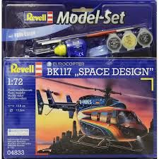 EUROCOPTER BK 117 MODEL SET 1/72 REVELL