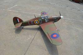 HAWKER HURRICANE 2080mm ARTF SEAGULL
